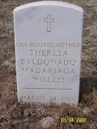MADARIAGA, THERESA WILLESS - Apache County, Arizona | THERESA WILLESS MADARIAGA - Arizona Gravestone Photos