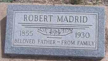 MADRID, ROBERT - Apache County, Arizona   ROBERT MADRID - Arizona Gravestone Photos