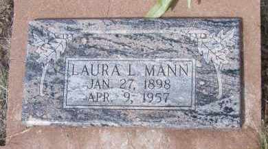 MANN, LAURA L. - Apache County, Arizona | LAURA L. MANN - Arizona Gravestone Photos