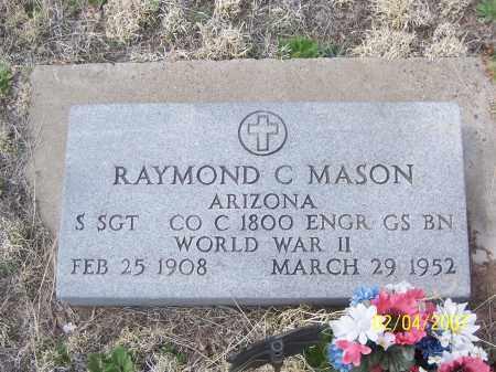 MASON, RAYMOND C. - Apache County, Arizona | RAYMOND C. MASON - Arizona Gravestone Photos
