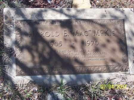 "MCKIE, HARLOD E. ""MAC"" - Apache County, Arizona | HARLOD E. ""MAC"" MCKIE - Arizona Gravestone Photos"