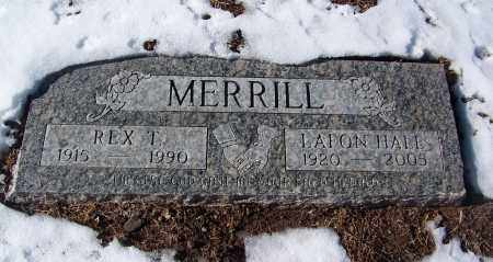 HALE MERRILL, LAFON - Apache County, Arizona   LAFON HALE MERRILL - Arizona Gravestone Photos