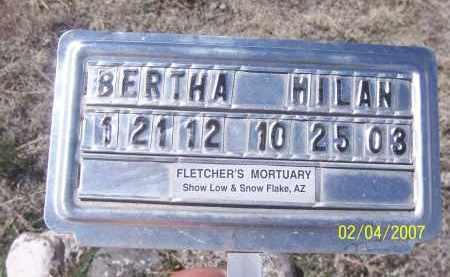 MILAN, BERTHA - Apache County, Arizona | BERTHA MILAN - Arizona Gravestone Photos