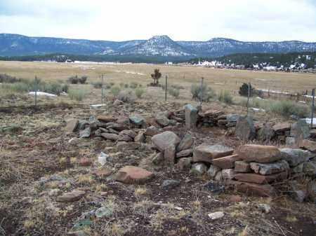 *MILLET/MAXWELL FAMILY, CEMETERY OVERVIEW - Apache County, Arizona | CEMETERY OVERVIEW *MILLET/MAXWELL FAMILY - Arizona Gravestone Photos