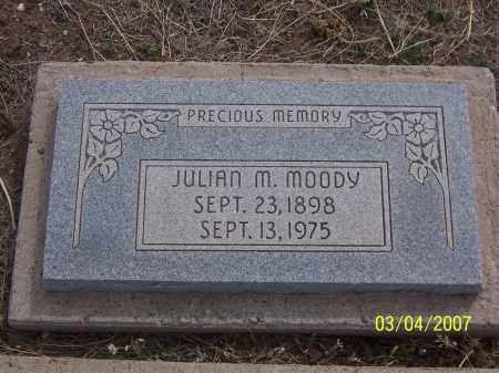 MOODY, JULIAN M. - Apache County, Arizona   JULIAN M. MOODY - Arizona Gravestone Photos