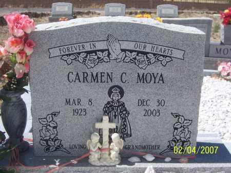 MOYA, CARMEN C. - Apache County, Arizona | CARMEN C. MOYA - Arizona Gravestone Photos