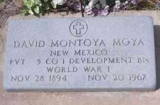 MOYA, DAVID MONTOYA - Apache County, Arizona   DAVID MONTOYA MOYA - Arizona Gravestone Photos