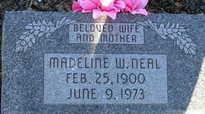 NEAL, MADELINE W. - Apache County, Arizona   MADELINE W. NEAL - Arizona Gravestone Photos