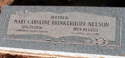 NELSON, MARY CAROLINE - Apache County, Arizona | MARY CAROLINE NELSON - Arizona Gravestone Photos