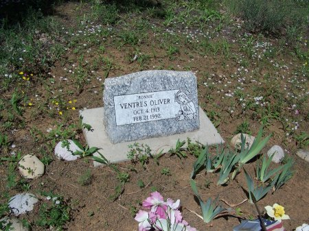 OLIVER, VENTRES - Apache County, Arizona   VENTRES OLIVER - Arizona Gravestone Photos