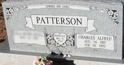 PATTERSON, CHARLES ALFRED - Apache County, Arizona | CHARLES ALFRED PATTERSON - Arizona Gravestone Photos