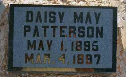 PATTERSON, DAISY MAY - Apache County, Arizona | DAISY MAY PATTERSON - Arizona Gravestone Photos