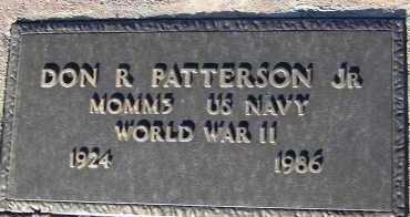 PATTERSON, DON R., JR. - Apache County, Arizona   DON R., JR. PATTERSON - Arizona Gravestone Photos