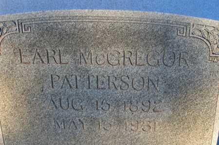 PATTERSON, EARL MCGREGOR - Apache County, Arizona | EARL MCGREGOR PATTERSON - Arizona Gravestone Photos