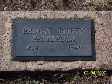 PATTERSON, ERNEST RIPLEY - Apache County, Arizona | ERNEST RIPLEY PATTERSON - Arizona Gravestone Photos