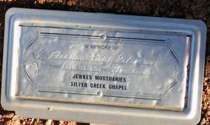 PATTERSON, FRANKLIN TODD - Apache County, Arizona   FRANKLIN TODD PATTERSON - Arizona Gravestone Photos