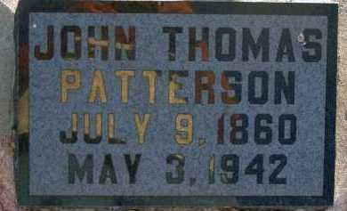 PATTERSON, JOHN THOMAS - Apache County, Arizona | JOHN THOMAS PATTERSON - Arizona Gravestone Photos