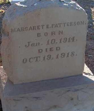 PATTERSON, MARGARET E. - Apache County, Arizona | MARGARET E. PATTERSON - Arizona Gravestone Photos
