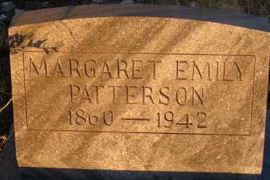 PATTERSON, MARGARET EMILY - Apache County, Arizona   MARGARET EMILY PATTERSON - Arizona Gravestone Photos