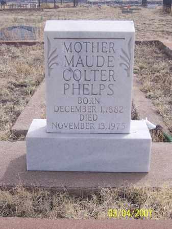 PHELPS, MAUDE - Apache County, Arizona | MAUDE PHELPS - Arizona Gravestone Photos