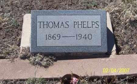PHELPS, THOMAS - Apache County, Arizona | THOMAS PHELPS - Arizona Gravestone Photos