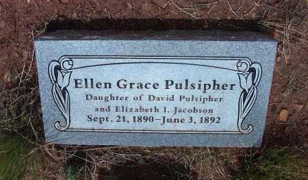 PULSIPHER, ELLEN GRACE - Apache County, Arizona | ELLEN GRACE PULSIPHER - Arizona Gravestone Photos