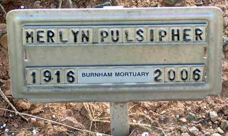PULSIPHER, MERLYN - Apache County, Arizona   MERLYN PULSIPHER - Arizona Gravestone Photos