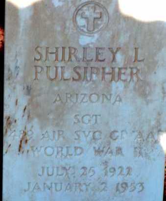 PULSIPHER, SHIRLEY L. - Apache County, Arizona   SHIRLEY L. PULSIPHER - Arizona Gravestone Photos