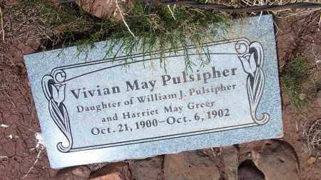 PULSIPHER, VIVIAN MAY - Apache County, Arizona | VIVIAN MAY PULSIPHER - Arizona Gravestone Photos
