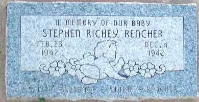 RENCHER, STEPHEN RICHEY - Apache County, Arizona | STEPHEN RICHEY RENCHER - Arizona Gravestone Photos