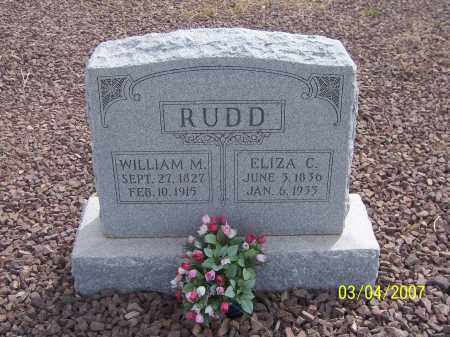 RUDD, ELIZA C. - Apache County, Arizona | ELIZA C. RUDD - Arizona Gravestone Photos