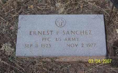 SANCHEZ, ERNEST P - Apache County, Arizona | ERNEST P SANCHEZ - Arizona Gravestone Photos