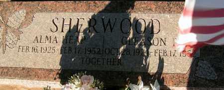 SHERWOOD, GLEASON - Apache County, Arizona | GLEASON SHERWOOD - Arizona Gravestone Photos
