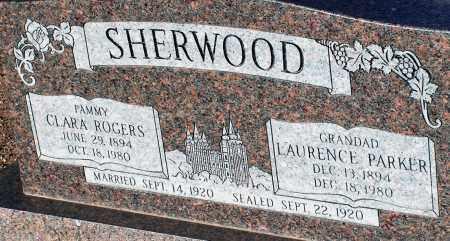 SHERWOOD, CLARA - Apache County, Arizona | CLARA SHERWOOD - Arizona Gravestone Photos
