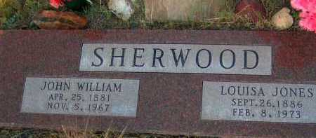 SHERWOOD, JOHN WILLIAM - Apache County, Arizona | JOHN WILLIAM SHERWOOD - Arizona Gravestone Photos