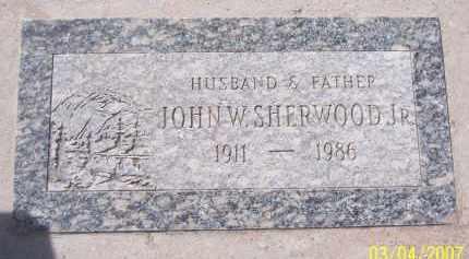 SHERWOOD, JOHN W - Apache County, Arizona | JOHN W SHERWOOD - Arizona Gravestone Photos