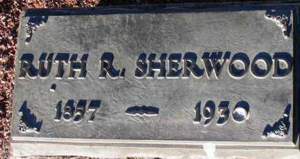 SHERWOOD, RUTH R. - Apache County, Arizona | RUTH R. SHERWOOD - Arizona Gravestone Photos