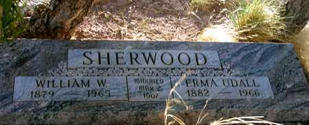 SHERWOOD, WILLIAM W. - Apache County, Arizona | WILLIAM W. SHERWOOD - Arizona Gravestone Photos