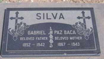 BACA SILVA, PAZ - Apache County, Arizona | PAZ BACA SILVA - Arizona Gravestone Photos
