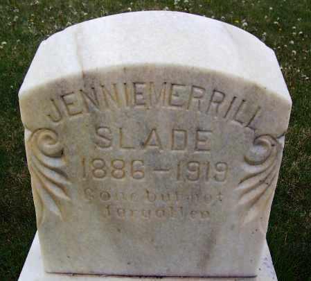 SLADE, JENNIE - Apache County, Arizona | JENNIE SLADE - Arizona Gravestone Photos