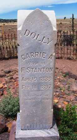 STANTON, CARRIE A - Apache County, Arizona | CARRIE A STANTON - Arizona Gravestone Photos