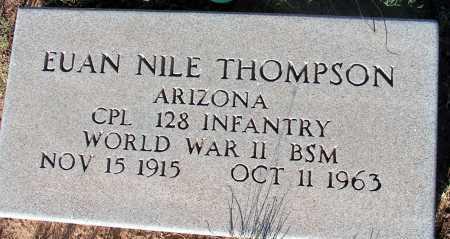 THOMPSON, EUAN NILE - Apache County, Arizona   EUAN NILE THOMPSON - Arizona Gravestone Photos
