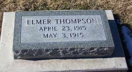THOMPSON, ELMER - Apache County, Arizona | ELMER THOMPSON - Arizona Gravestone Photos
