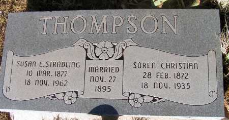 THOMPSON, SUSAN E. - Apache County, Arizona | SUSAN E. THOMPSON - Arizona Gravestone Photos
