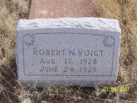 VOIGHT, ROBERT W. - Apache County, Arizona   ROBERT W. VOIGHT - Arizona Gravestone Photos