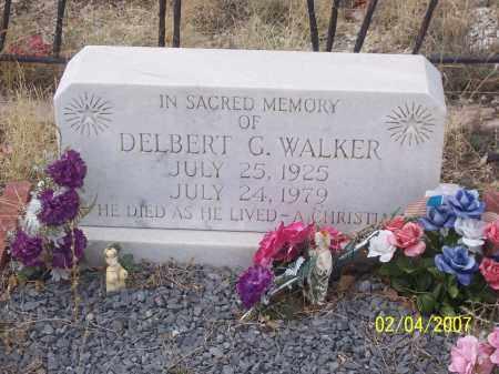 WALKER, DELBERT G. - Apache County, Arizona | DELBERT G. WALKER - Arizona Gravestone Photos