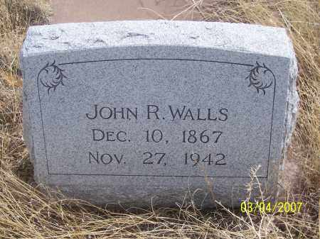 WALLS, JOHN R. - Apache County, Arizona | JOHN R. WALLS - Arizona Gravestone Photos