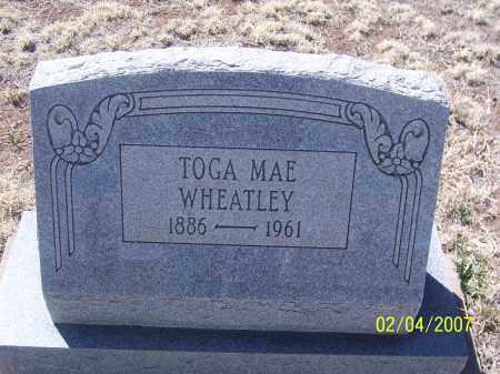 WHEATLEY, TOGA MAE - Apache County, Arizona | TOGA MAE WHEATLEY - Arizona Gravestone Photos