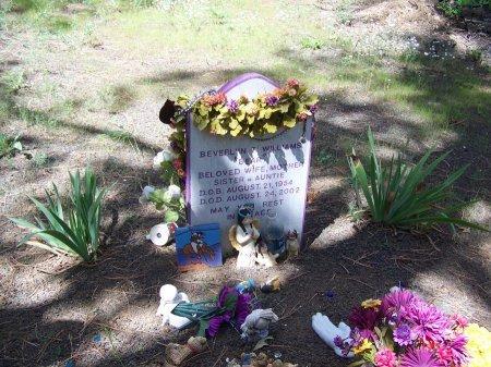 "WILLIAMS, BEVERLYN ""BEAR"" - Apache County, Arizona   BEVERLYN ""BEAR"" WILLIAMS - Arizona Gravestone Photos"