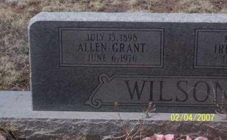 WILSON, ALLEN GRANT - Apache County, Arizona | ALLEN GRANT WILSON - Arizona Gravestone Photos